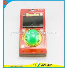 Hot Selling Kid's Toy Coloful Rainbow Sport Wrist Oi Bola de borracha Bounce