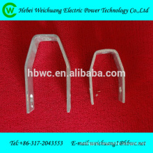 Hot-dip Galvanized D iron bracket /Electrical power fittings