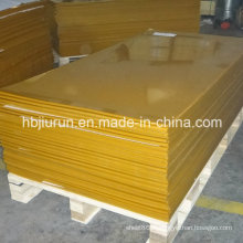 Brown 85 Shore une feuille de PU de Chine