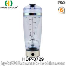 600ml Customized Plastic Vortex Protein Shaker Bottle, BPA Free Plastic Electric Protein Shaker Bottle (HDP-0729)