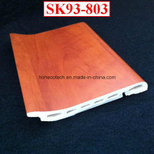 Creative Installation WPC Skirting Board Sk93-803 PVC Film Coated Flooring Skirting Board
