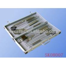Kleine Aluminium-BBQ-Werkzeugkoffer