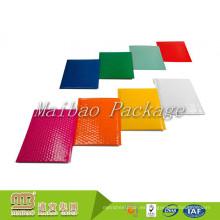 Peso ligero autoadhesivo de la tira que empaqueta el envío que colorea los sobres anaranjados coloreados aduana de la burbuja Sobres