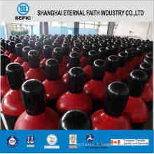 Cylindre de gaz à haute pression en acier sans couture (ISO9809 219-40-150)