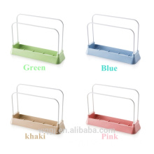 Creative Multifunctional Colorful Kitchen Tools for Storage Plastic Kitchen Shelf
