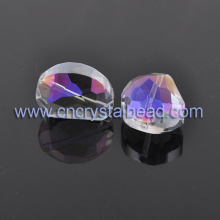 rainbow color coated Jewelry Crystal Bead