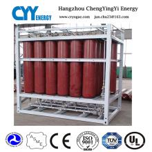 Hochdruck-Sauerstoff-Stickstoff-Gas-Zylinder Dnv Rack
