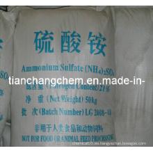 Agricultura Fertilizante Sulfato de amonio Nitrógeno21%