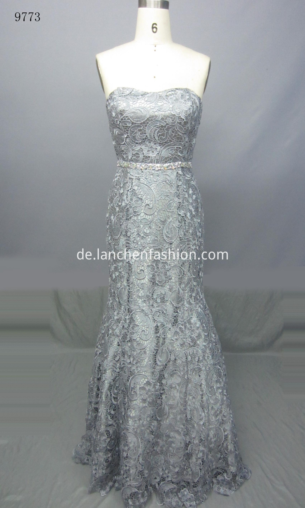 Long Wedding Dresses Grey
