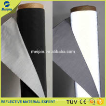 Safety High Visible Material High Light Black Reflective Fabric For Clothing