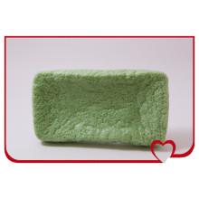 La plus chaude éponge de konjac 100% naturelle éponge nettoyante pour le visage au thé vert