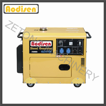 Gerador diesel elétrico portátil silencioso (à prova de som)