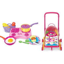 PP Kitchen Play Set Preschool Toy with 42 Pieces
