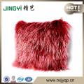 Little Fur Leather Pillow