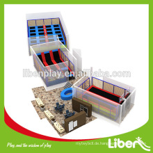 China Hersteller Skyzone Typ Business Plan Indoor Trampolin Center für Erwachsene