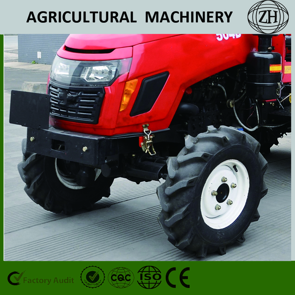 4 Wheel Drive 50HP XinChai Engine Wheeled Farm Tractors