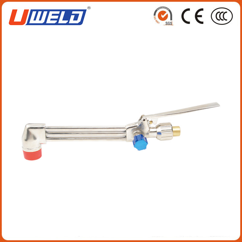 Hand Cutting Torch with Handle Mixer and Attachment