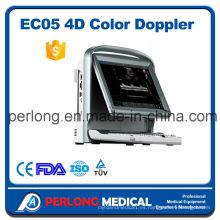 FDA Ce aprobado China Portable ultrasonido máquina precio Ec05 Color Doppler