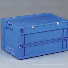 Faltender Plastiklagerbehälter