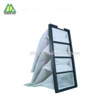 Filtros industriales de bolsa de filtro de aire de eficiencia media