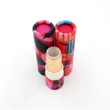 Großhandel kleine zylinder verpackung lippenstift rohr box