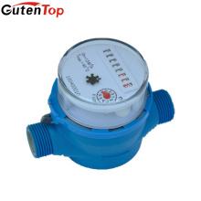 Gutentop Rotary-paleta Dial-seco Medidor de agua de flujo único