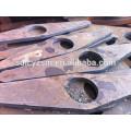 China corte de metal de acero dulce