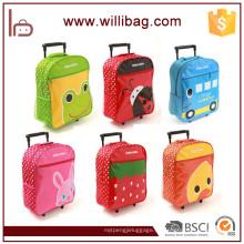 Großhandel Cartoon Kinder Schule Trolley Bag mit Rädern