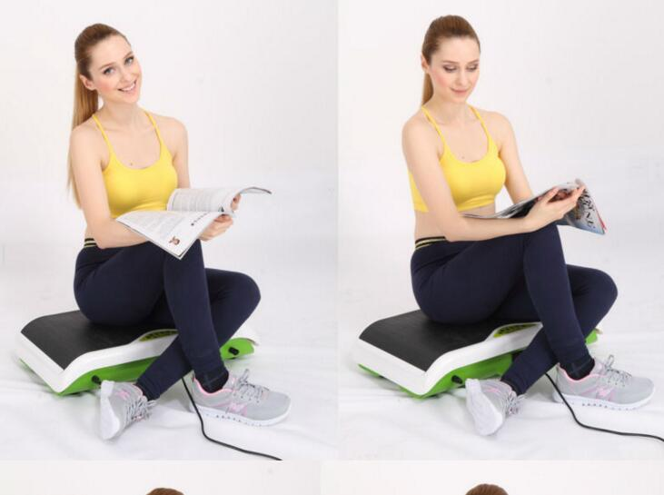 2018 New Fitness Body Exercise Vibration Plate