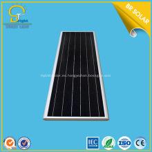 2018 la más nueva luz de calle solar integrada 50W