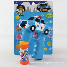 Music Electric Outdoor Summer Toy Police Car Bubble Gun Toy
