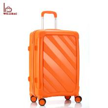 Bolso de la carretilla de la maleta de los bolsos del viaje del equipaje de los nuevos PP del diseño