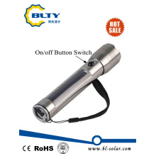 Rechargeable Power Solar LED Flashlight Torch