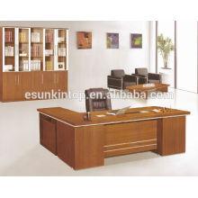 Mesa de oficina de buena calidad, una mesa de recepción y una mesa auxiliar, tamaño personalizado