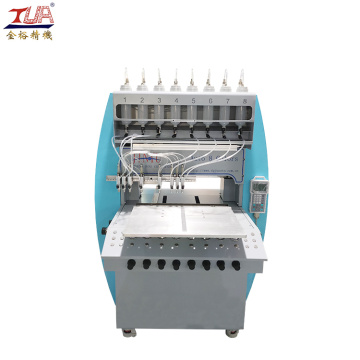 Dongguan 8 Color PVC Injection Zipper Making Machine