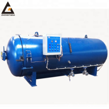 Semi-automatic pressure vulcanizer rubber industry steam curing autoclave