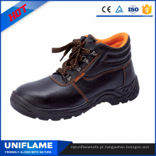 Botas de segurança de trabalho de homens, calçado de sapatos de segurança Ufb007