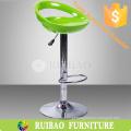 Novo design Cheap Usado Bar Stools Plastic ajustável Bar Stool ABS Bar Stool