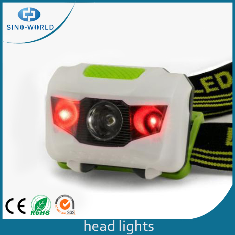 Headlight With Red Light