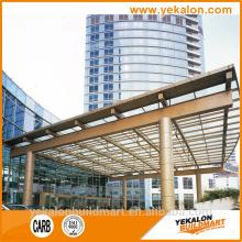 Yekalon curtain wall system canopy system Aluminium canopy for balcony
