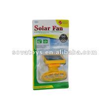 Ventilador solar solar 2 em um