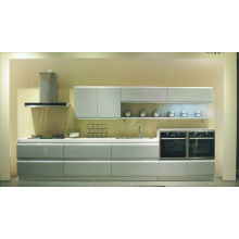 Gabinete de cocina de alto brillo de MDF Puerta de gabinete de cocina de MDF UV