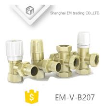 EM-V-B207 Todos os tipos Manul Válvula Termostática Do Radiador