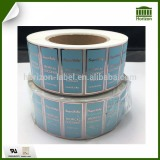 Custom Print Waterproof roll bottle Label Sticker Perfume Self adhesive Sticker Label