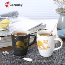 Personnaliser les tasses de café en céramique promotionnelle