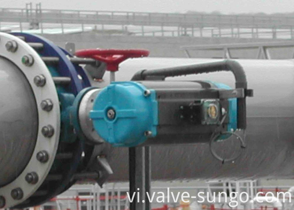 PTFE Butterfly valve appliction