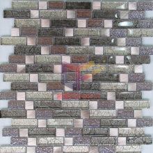 Glass Mix Metal Art Mosaic (GF255)