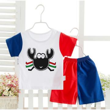 Short Sleeve Summer Cotton Underwear Suit for Boy