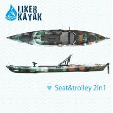 4.3m Kayaks individuales de pesca para la venta hecha por Liker Kayak