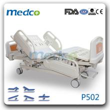 P502 Lit d'hôpital d'urgence chambre lit électronique